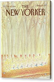 New Yorker October 22nd, 1984 Acrylic Print