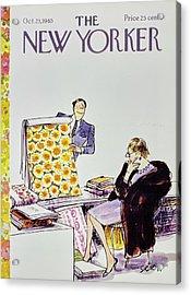 New Yorker October 23rd 1965 Acrylic Print