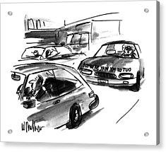 New Yorker October 23rd, 1995 Acrylic Print