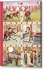 New Yorker October 26th, 1940 Acrylic Print