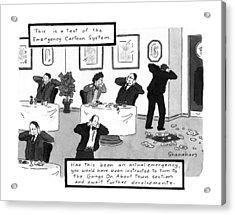 New Yorker October 26th, 1992 Acrylic Print