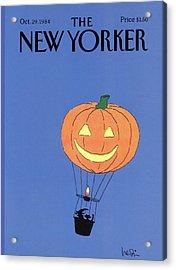New Yorker October 29th, 1984 Acrylic Print