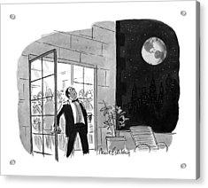 New Yorker October 29th, 1990 Acrylic Print
