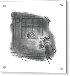 New Yorker October 31st, 1942 Acrylic Print by Leonard Dove