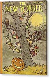 New Yorker October 31st, 1959 Acrylic Print