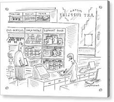 New Yorker October 4th, 1999 Acrylic Print