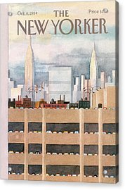 New Yorker October 8th, 1984 Acrylic Print
