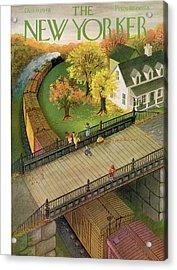 New Yorker October 9th, 1948 Acrylic Print