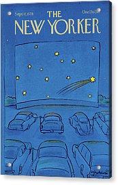 New Yorker September 11th, 1978 Acrylic Print