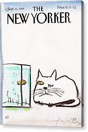 New Yorker September 11th, 1989 Acrylic Print