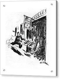 New Yorker September 12th, 1942 Acrylic Print by Alan Dunn