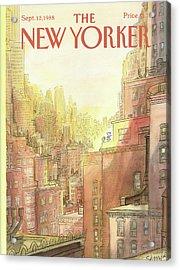 New Yorker September 12th, 1988 Acrylic Print