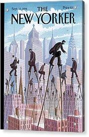 New Yorker September 12th, 1994 Acrylic Print