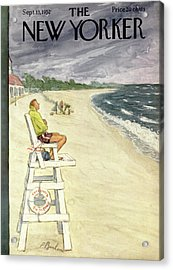 New Yorker September 13th, 1952 Acrylic Print