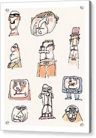 New Yorker September 13th, 1999 Acrylic Print