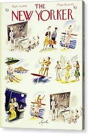 New Yorker September 14 1940 Acrylic Print