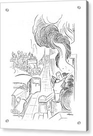 New Yorker September 14th, 1940 Acrylic Print