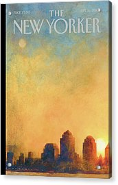 New Yorker September 16th, 2002 Acrylic Print