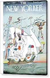 New Yorker September 17th, 1960 Acrylic Print