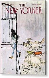 New Yorker September 19th, 1970 Acrylic Print