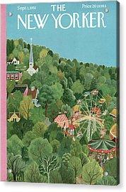 New Yorker September 1st, 1951 Acrylic Print
