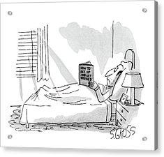 New Yorker September 1st, 1980 Acrylic Print