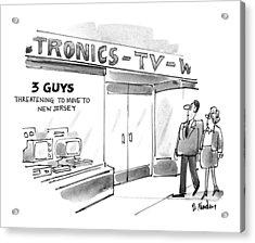 New Yorker September 20th, 1993 Acrylic Print by Dana Frado