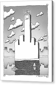 New Yorker September 20th, 1999 Acrylic Print