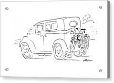 New Yorker September 26th, 1942 Acrylic Print