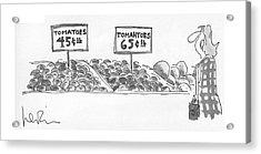 New Yorker September 27th, 1976 Acrylic Print