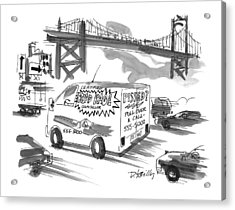New Yorker September 27th, 1999 Acrylic Print