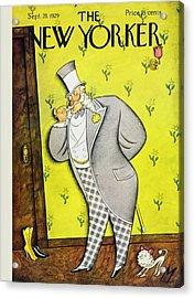 New Yorker September 28 1929 Acrylic Print by Julian De Miskey