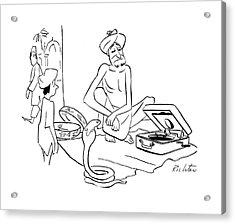 New Yorker September 30th, 1944 Acrylic Print