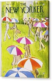 New Yorker September 3rd 1979 Acrylic Print