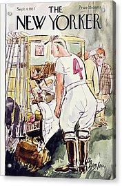 New Yorker September 4 1937 Acrylic Print