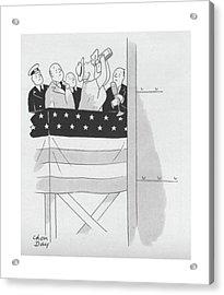 New Yorker September 4th, 1943 Acrylic Print