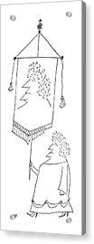 New Yorker September 4th, 1954 Acrylic Print