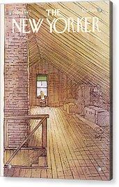 New Yorker September 5th, 1977 Acrylic Print