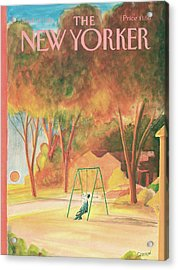 New Yorker September 9th, 1985 Acrylic Print