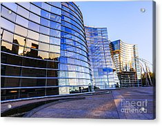 New Zealand Christchurch Art Gallery Acrylic Print by Colin and Linda McKie