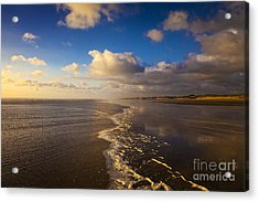 New Zealand Ninety Mile Beach Acrylic Print by Colin and Linda McKie