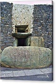 Newgrange Entrance Acrylic Print