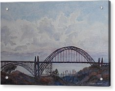 Newport Bay Bridge I Acrylic Print