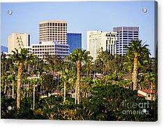 Newport Beach Skyline Picture Acrylic Print by Paul Velgos