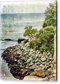 Newport Cliff Walk Acrylic Print
