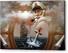 Imperishable Map Captain 2 Acrylic Print