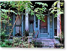 Next Door To Aunt Agnes Acrylic Print by Patricia Greer