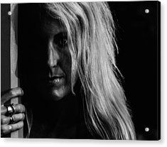 Next To You Acrylic Print by  Kelly Hayner