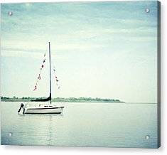 Next Voyage Acrylic Print by Carolyn Cochrane