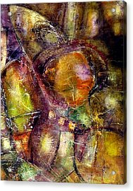 Acrylic Print featuring the painting Nexus by Katie Black